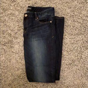 Express Pants - Express Stella Low Rise Skinny Jeans